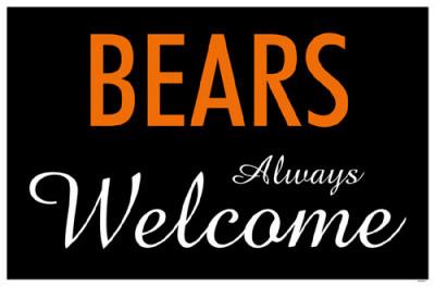 Bears Always Welcome Masterprint