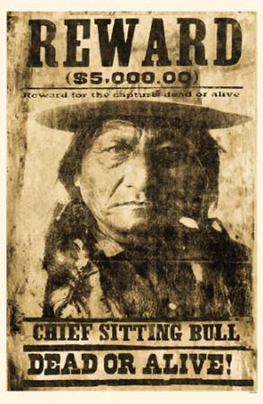 Sitting Bull Masterprint
