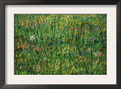 Patch of Grass Poster by Vincent van Gogh