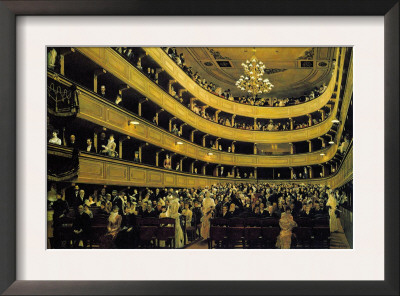 Hall Prints by Gustav Klimt