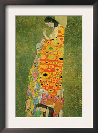 Abandoned Hope Poster by Gustav Klimt