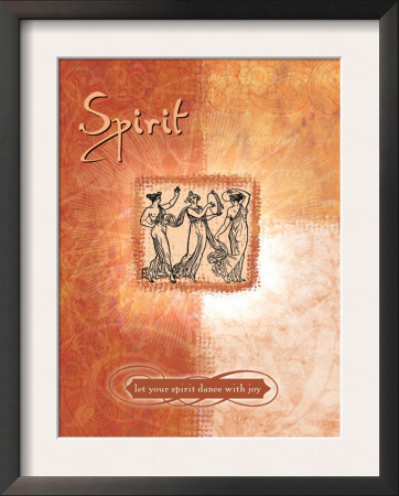 Let Your Spirit Dance Print