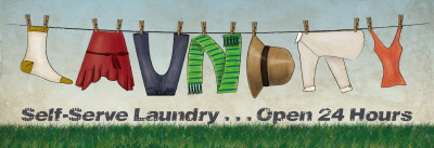Laundry Prints by N. Harbick