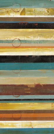 Stripes Panel I Print by Cheryl Martin