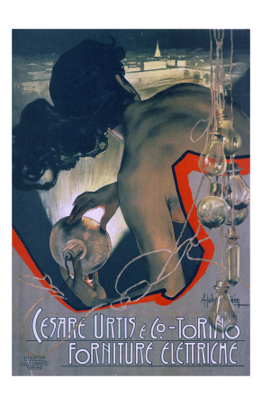Cesare Urtis and Co Prints by Adolfo Hohenstein
