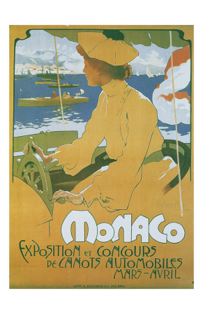 Monaco Exposition et Concours 1904 Art by Adolfo Hohenstein