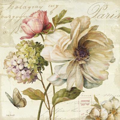 Marche de Fleurs II Art by Lisa Audit