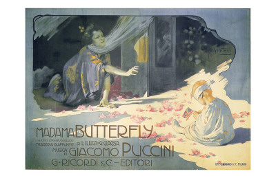Madame Butterfly 1904 Posters by Adolfo Hohenstein