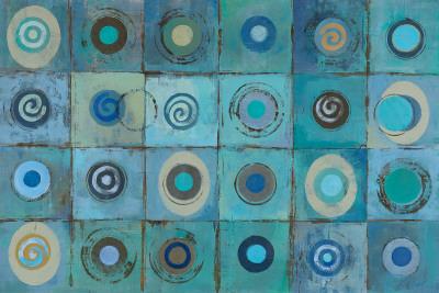 Underwater Mosaic Plakater af Silvia Vassileva