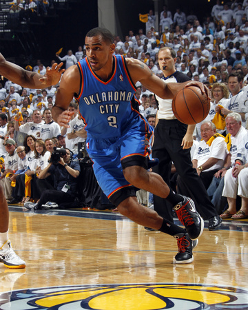 Oklahoma City Thunder v Memphis Grizzlies  - Game Four, Memphis, TN - MAY 9: Thabo Sefolosha Photo by Layne Murdoch