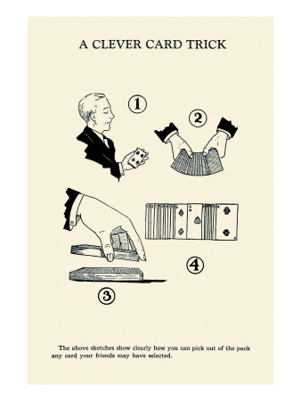 Cleaver Card Trick Posters