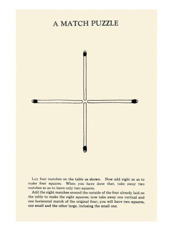 Match Puzzle Prints