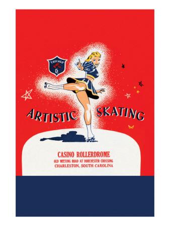 Artistic Skating Poster