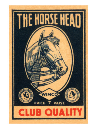 Horse Head Club Quality Matches Posters