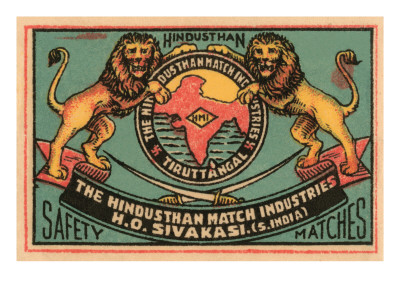 Hindusthan Safety Matches Prints