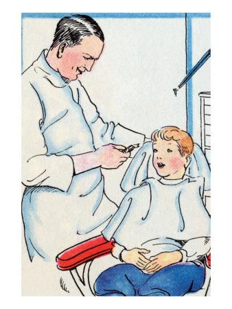 Dentist Print by Julia Letheld Hahn