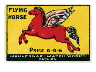 Flying Horse Posters