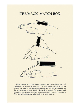 Magic Match Box Print