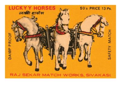 Lucky Horses Prints