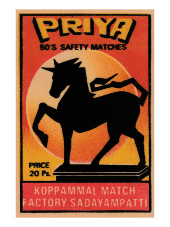 Priya 50's Safety Matches Posters
