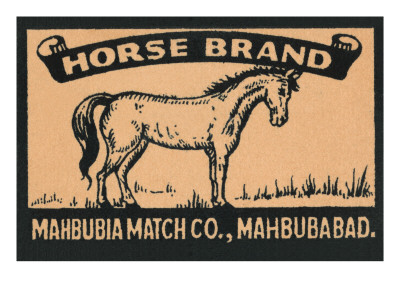 Horse Brand Posters