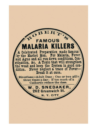 Robert's Famous Malaria Killers Prints