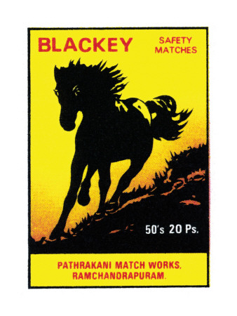 Blackey Safety Matches Poster