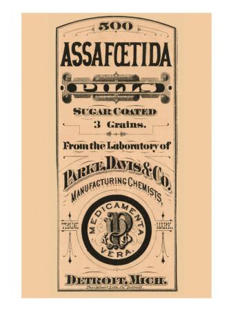 Assafoetida Pills Posters