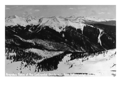 Dillon, Colorado - Arapahoe Basin at Continental Divide Art Print
