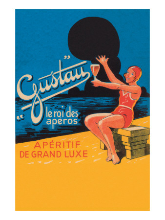 Gustau Aperitif Premium Poster