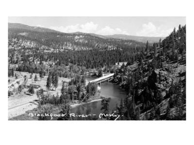 Montana - Blackfoot River Prints by  Lantern Press