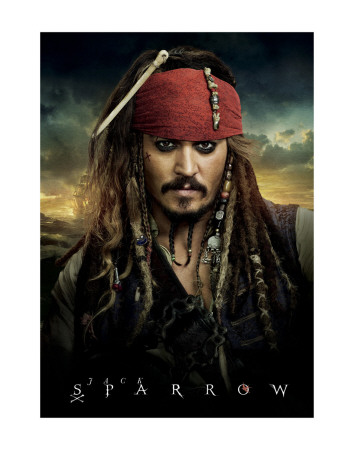 Jack Sparrow Poster Print