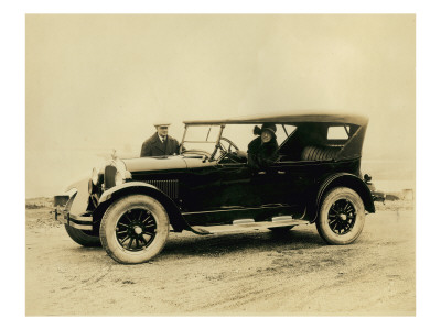 Touring Car, Circa 1920s Premium Giclee Print by Marvin Boland