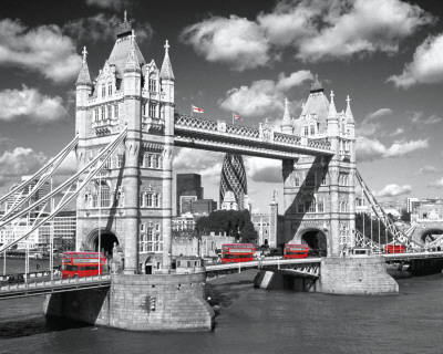 London - Tower Bridge Mini Poster
