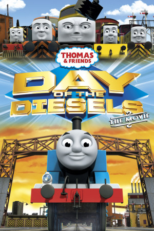 Thomas & Friends - Day of the Diesels Póster