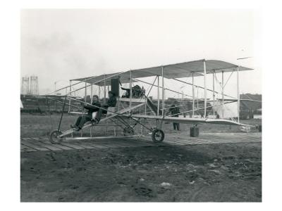 First Passenger Flight in Washington, September 28, 1912 Premium Giclee Print by Marvin Boland
