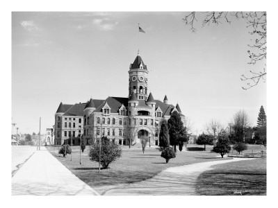State Capitol Building, Olympia, Undated Premium Giclee Print by Asahel Curtis