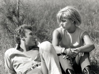 Johnny Hallyday and Sylvie Vartan, June 6, 1963 Photographic Print