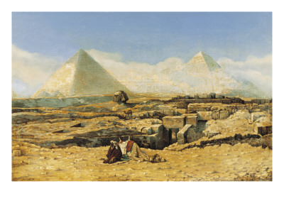 A Prayer by the Sphinx Giclee Print