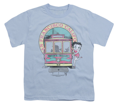 Youth: Betty Boop - Betty's Trolley T-shirts