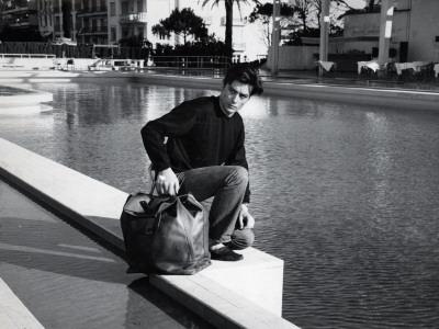 Alain Delon: Melodie En Sous Sol, 1963 Photographic Print by Marcel Dole
