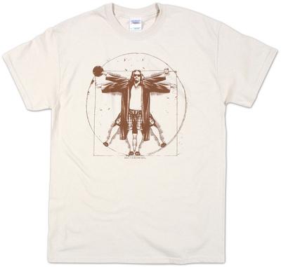 Big Lebowski, Den vitruvianske mand T-Shirt