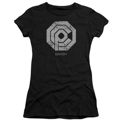 Juniors: Distressed OCP Logo T-shirts