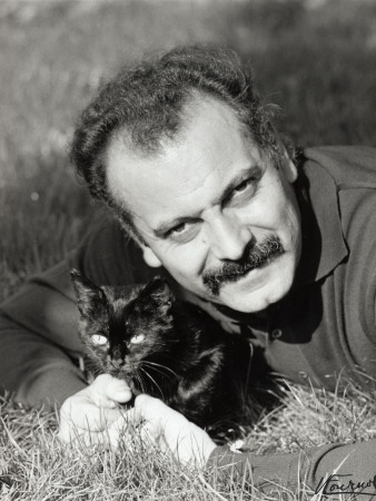 Georges Brassens, June 23, 1960 Photographic Print by Luc Fournol