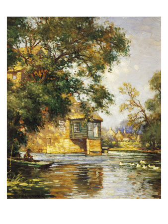 The Mill Pond Giclee Print