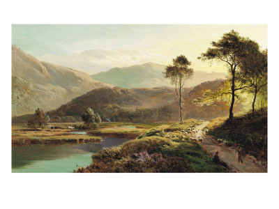 A View of Ambleside Giclee Print by Sidney Richard Percy