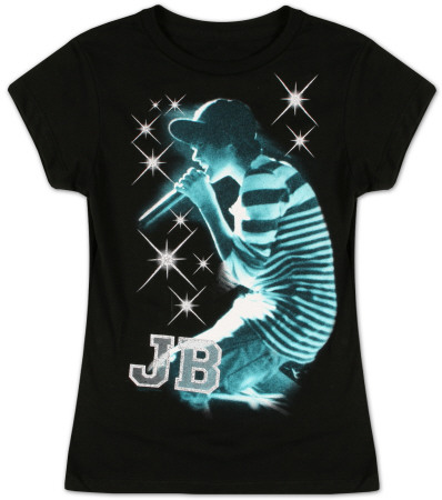 Youth: Justin Bieber Live - Sparkle T-Shirt