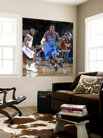 Tulsa 66ers v Texas Legends: Jerome Dyson and Booker Woodfox Wall Mural