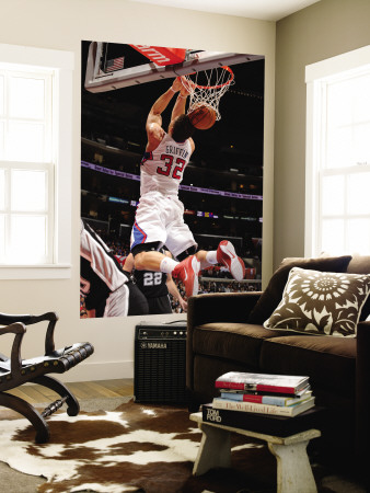 San Antonio Spurs v Los Angeles Clippers: Blake Griffin Wall Mural by Noah Graham