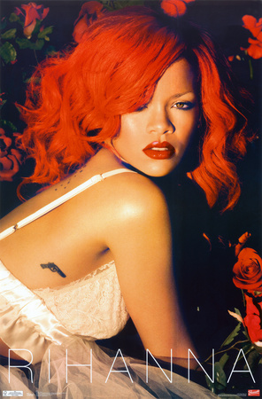 Rihanna - Roses poster